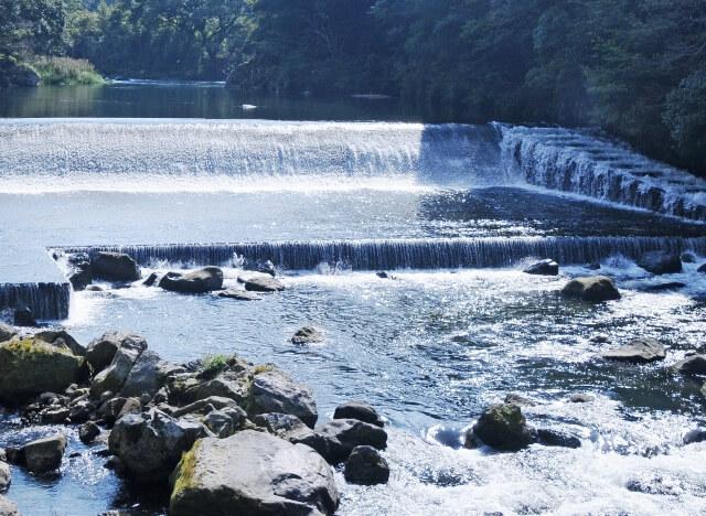 幅の広い川