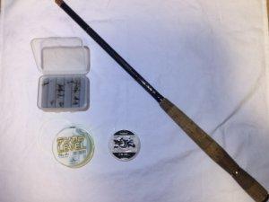 テンカラ釣りに必要な装備一覧(竿、レベルライン、ハリス、毛鉤)